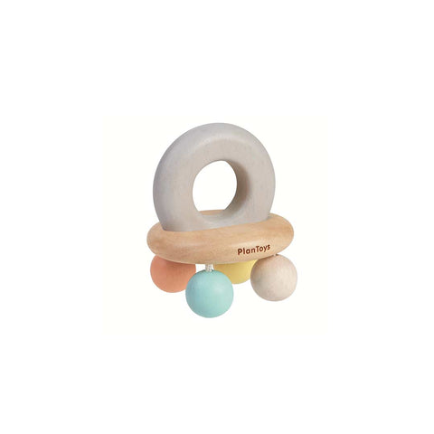 Plan Toys Bell Rattle - A Touch of Pastel-Rattles- Natural Baby Shower