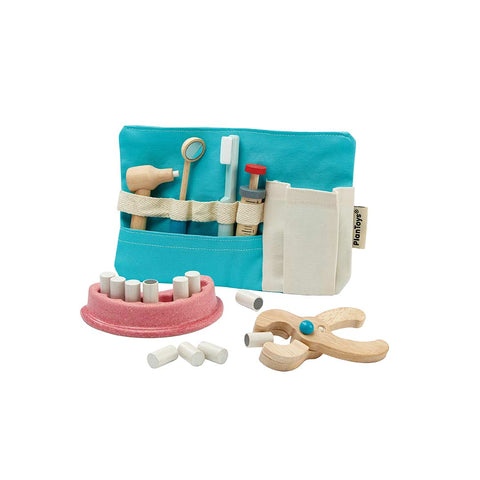 Plan Toys Dentist Set-Play Sets- Natural Baby Shower