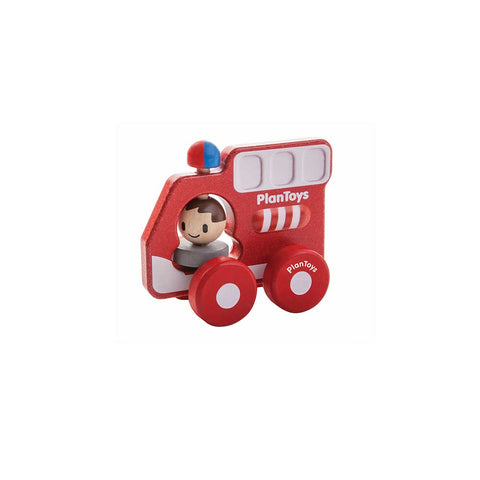 Plan Toys Fire Truck-Play Sets- Natural Baby Shower