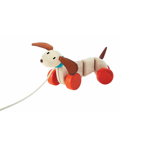 Plan Toys Happy Puppy-Baby Walkers- Natural Baby Shower