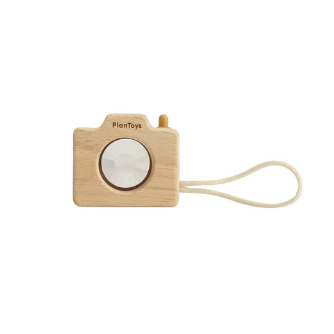 Plan Toys Mini Camera-Play Sets- Natural Baby Shower