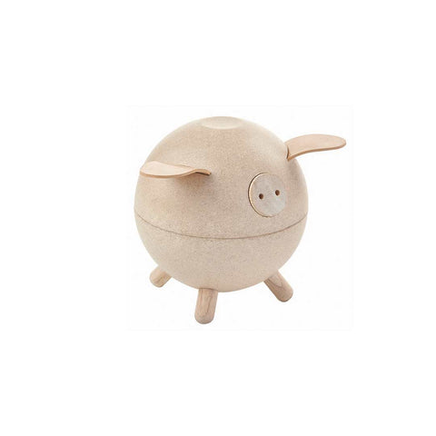Plan Toys Piggy Bank - White-Play Sets- Natural Baby Shower