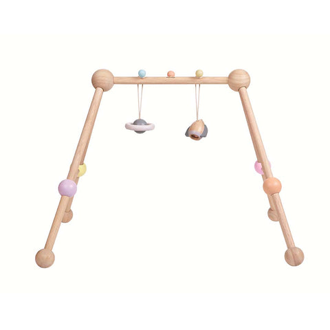 Plan Toys Play Gym - A Touch of Pastel-Baby Gym- Natural Baby Shower