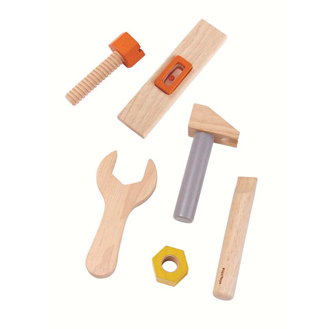 Plan Toys Tool Belt-Play Sets- Natural Baby Shower
