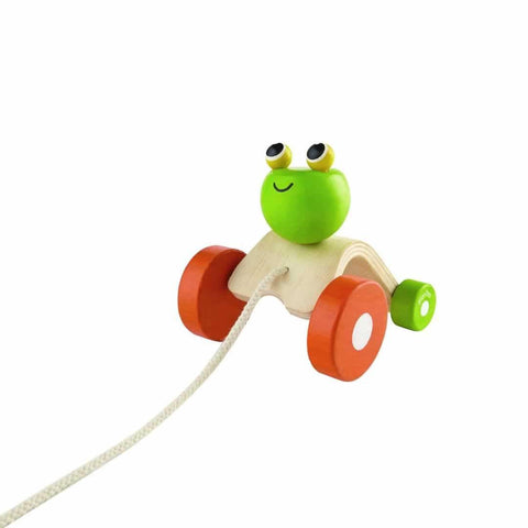 Plan Toys Jumping Frog-Baby Walkers- Natural Baby Shower