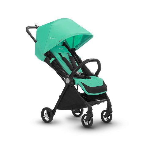 Silver Cross Jet Pushchair - Spearmint-Strollers- Natural Baby Shower