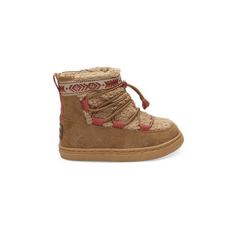 TOMS Alpine Shoes - Brown-Boots- Natural Baby Shower