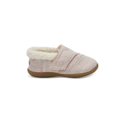 TOMS House Slipper - Pink-Soft Soles- Natural Baby Shower