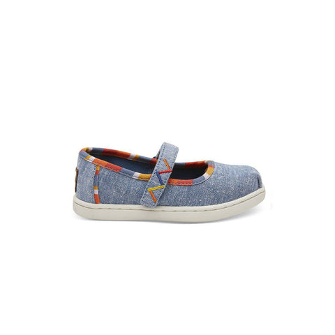 TOMS Mary Jane - Blue-Shoes- Natural Baby Shower
