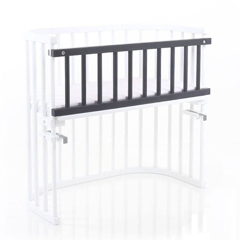 BabyBay Convertible Side Bar - Platinum Grey-Side Bars-Default- Natural Baby Shower