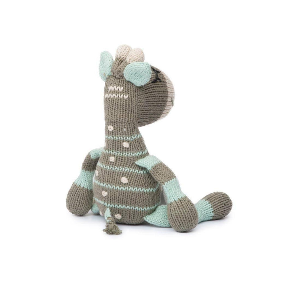 Finn + Emma Rattle Buddy - Ami the Giraffe-Rattles- Natural Baby Shower