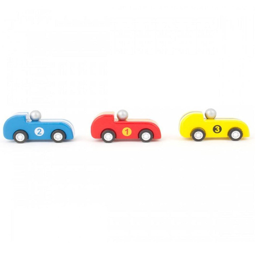 Le Toy Van - Three Pullback Racers-Play Sets-Default- Natural Baby Shower
