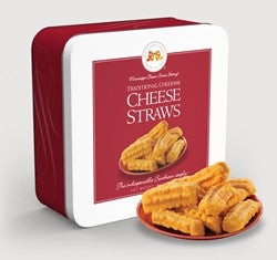 Cheese Straw (tin) 10 oz.