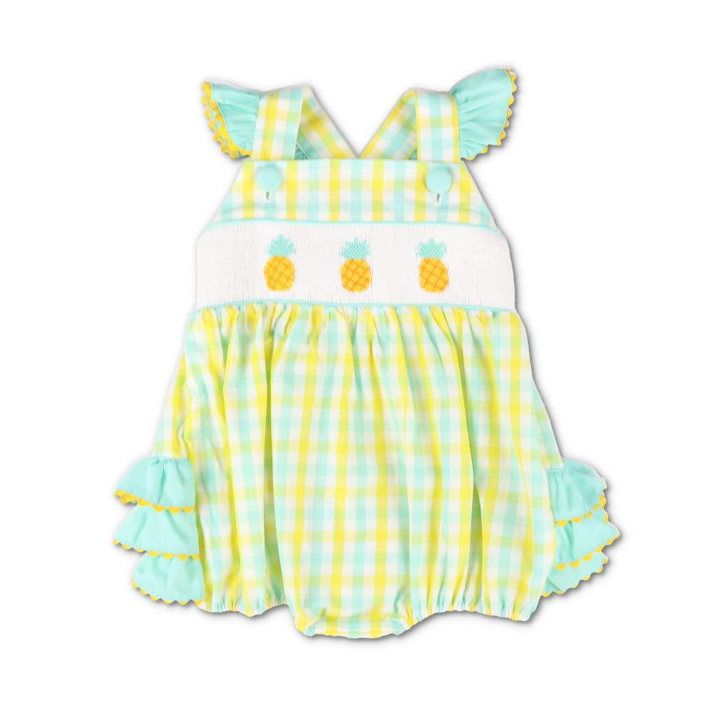 Smocked Pineapple Island Bubble