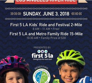 Los Angeles River Ride - Sunday June, 3, 2018