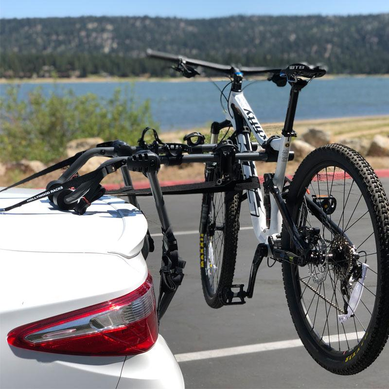 Easy to Install Baja Trunk Bike Rack Hollywood Racks