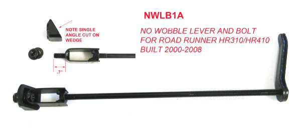 "No Wobble Bolt and Lever for 2000-2008 1-1/4"" Road Runner"