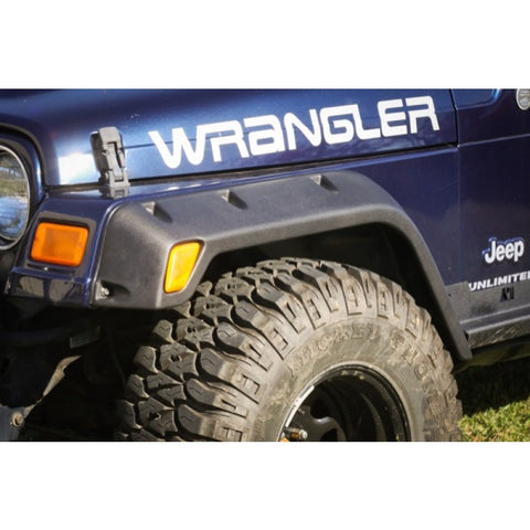 Rugged Ridge 4-Piece All Terrain Fender Flare Kit, 4.75-Inch, 97-06 Wrangler (TJ)