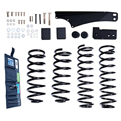 Rugged Ridge 2.5 Inch Lift Kit without Shocks, 07-15 Jeep Wrangler (JK)