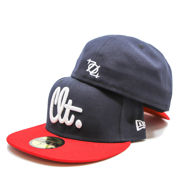 704 Shop 704th of July CLT Script 5950 Hat - Fitted (Limited Edition)