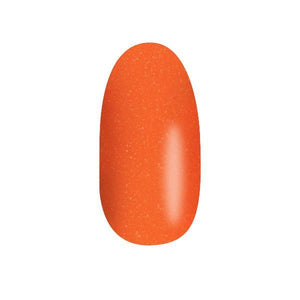 Color Acrylic Nail Pearl Art Powder, Neon Orange #4