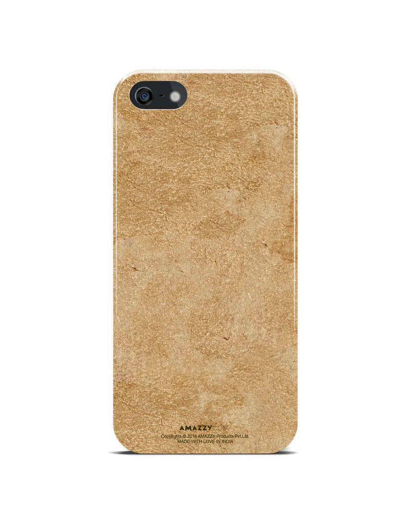 Gold Leather Texture - iPhone 5/5s Phone Cover View