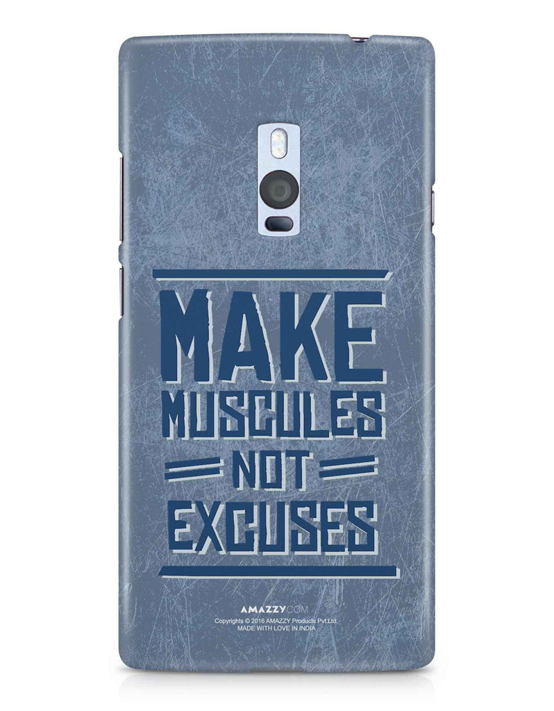 MAKE MUSCULE - OnePlus 2 Phone Cover