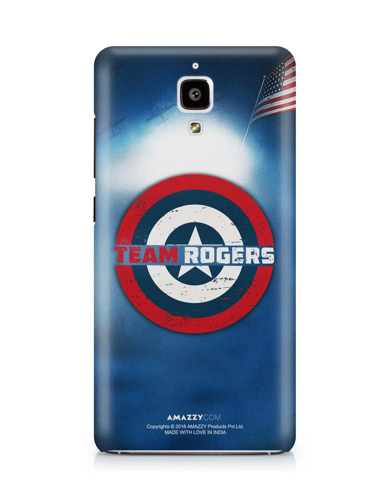 TEAM ROGERS - Xiaomi Mi4 Phone Cover View