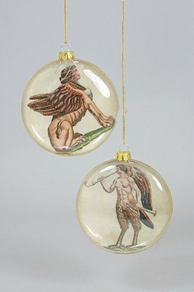 Mythological Christmas Ornaments - animal ornament, christmas ornament, christmas ornaments, decor, hanging-ornaments, holiday-decor, mythology, ornament, ornaments