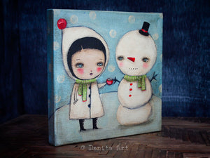 Hot Cocoa, Original Art by Danita Art