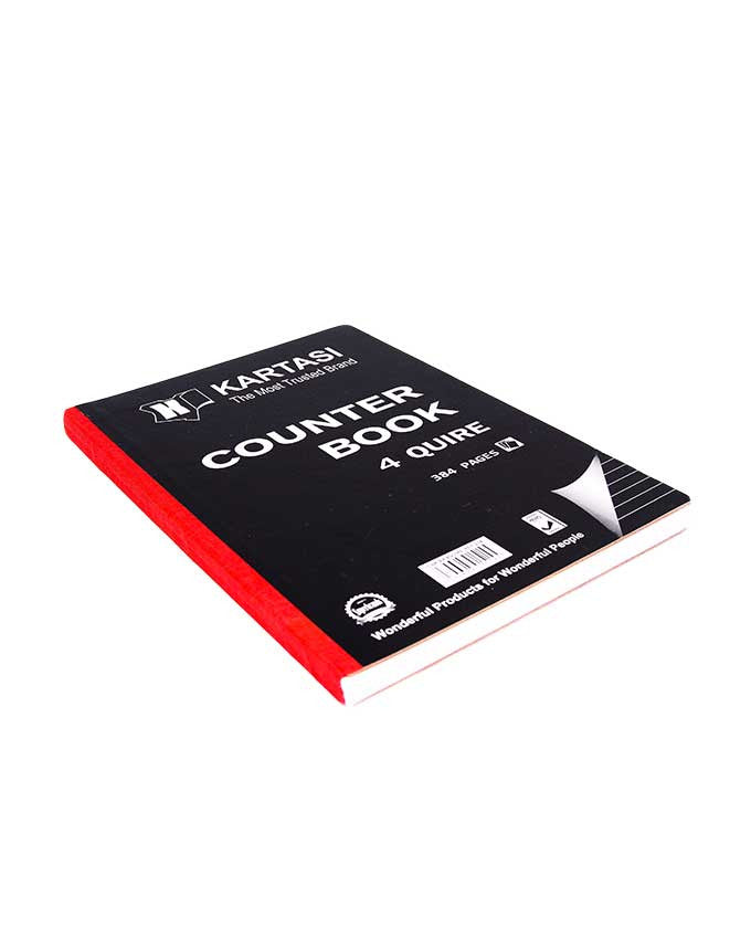 Counter Book, 4 Quire A4 - Dolphin Stationers