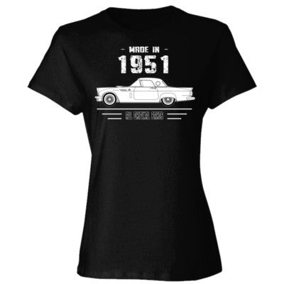 Made in 1951 - All Original Parts - Ladies' 4.5 oz., 100% Ringspun Cotton nano-T® T-Shirt