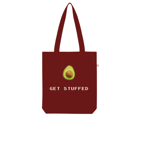 Get Stuffed (Avocado) Organic Tote Bag