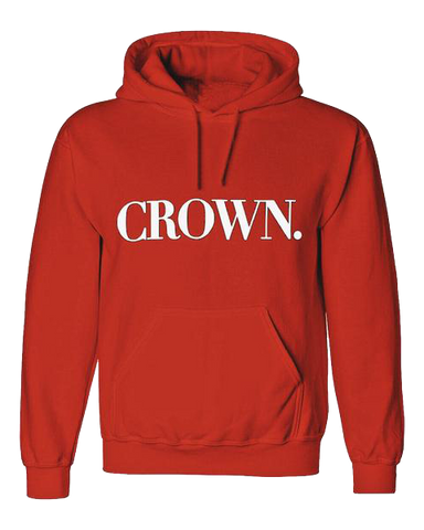 Crown Hoodie [Limited Red, Milk & Caviar]