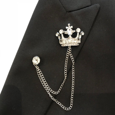 Lapel Pin Crown