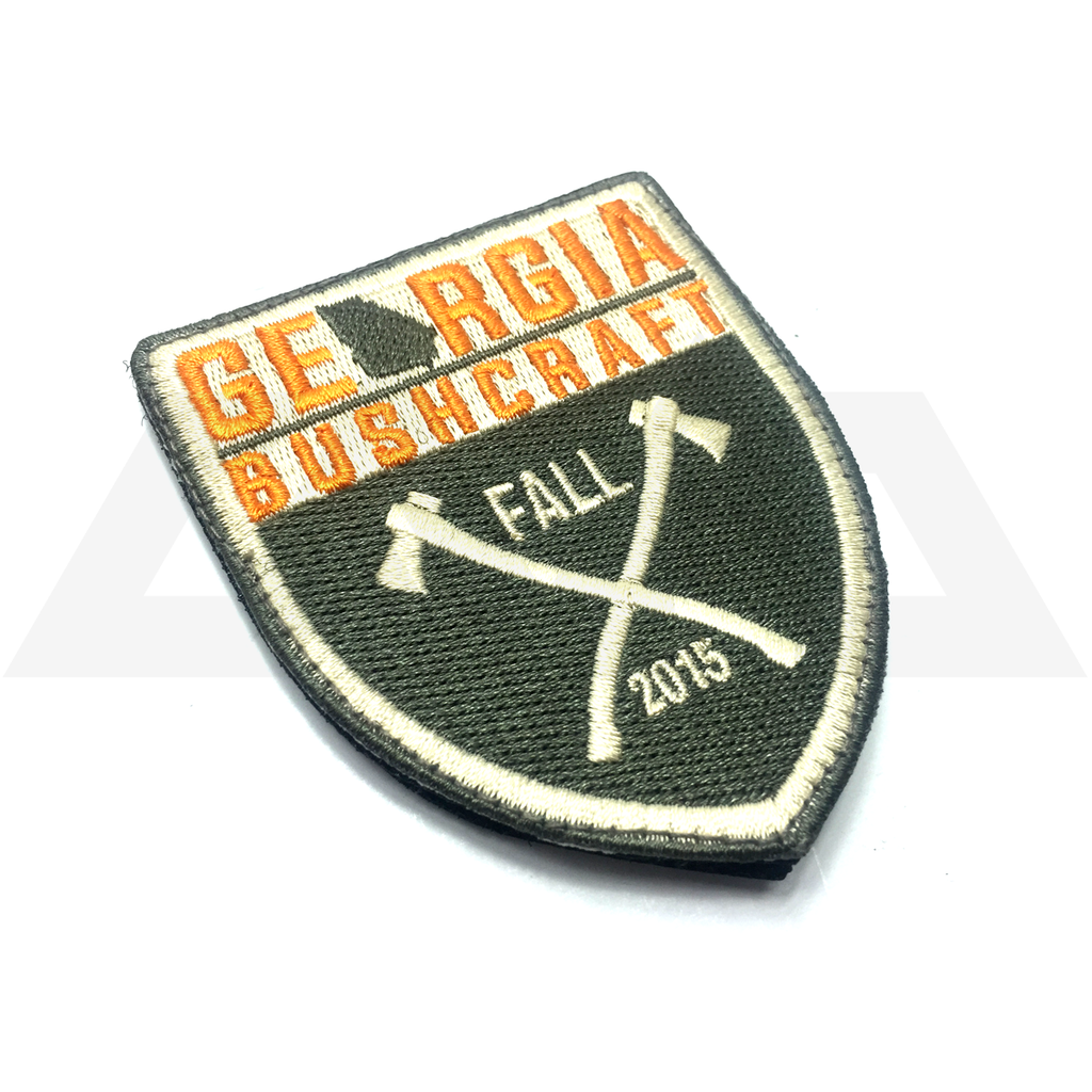 Georgia Bushcraft Fall 2015 Embroidered Patch
