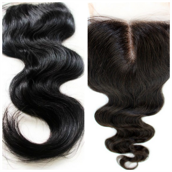 Diamond Lace Closure Body Wave