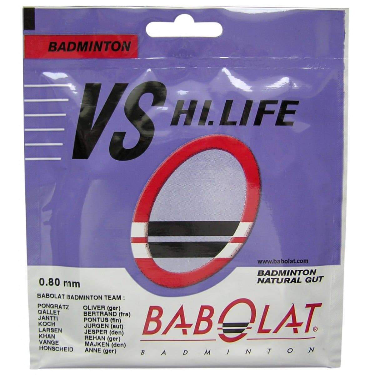 Babolat VS HI LIFE Badminton String Set