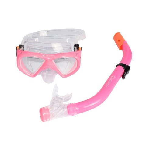 Oceantric Snorkeling Set - Pink (Kids)