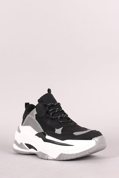 Reflective Panel Sneaker