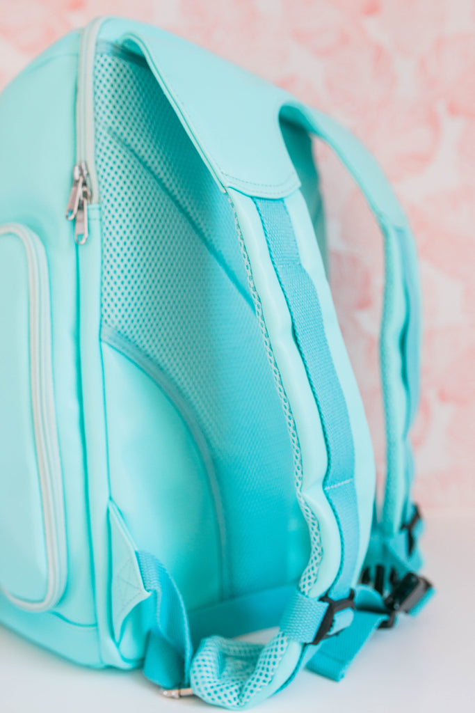 CLEARANCE- The Backpack- Aquamarine