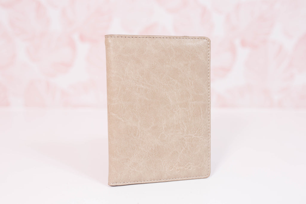 Sandstone Small Wallet/Passport Cover