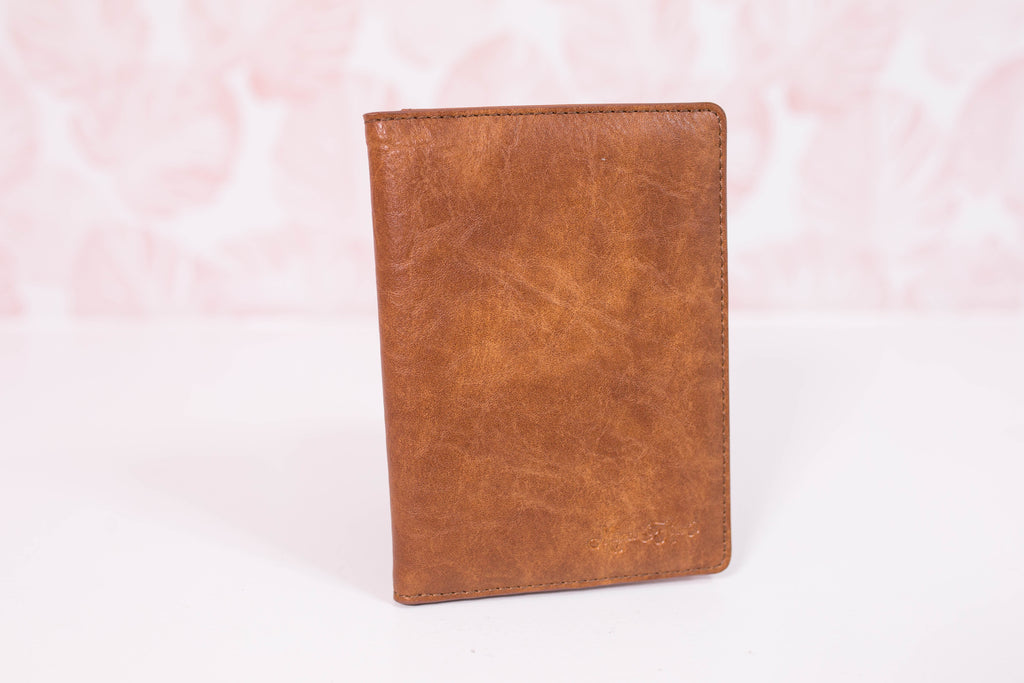 Warm Honey Small Wallet/Passport Cover
