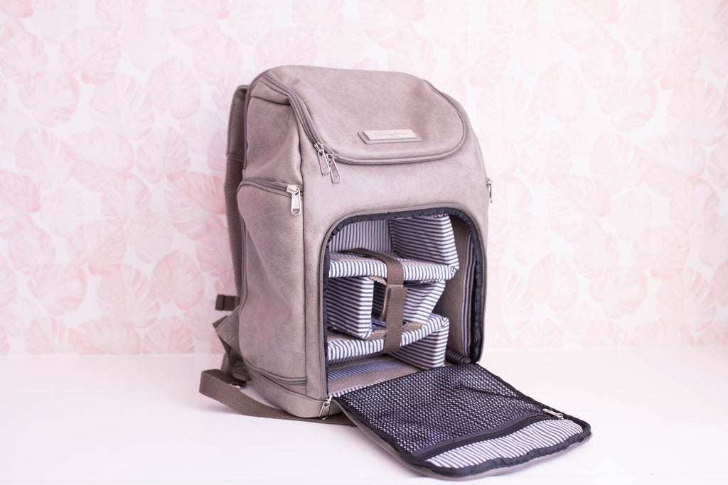The Backpack- Stormy Grey