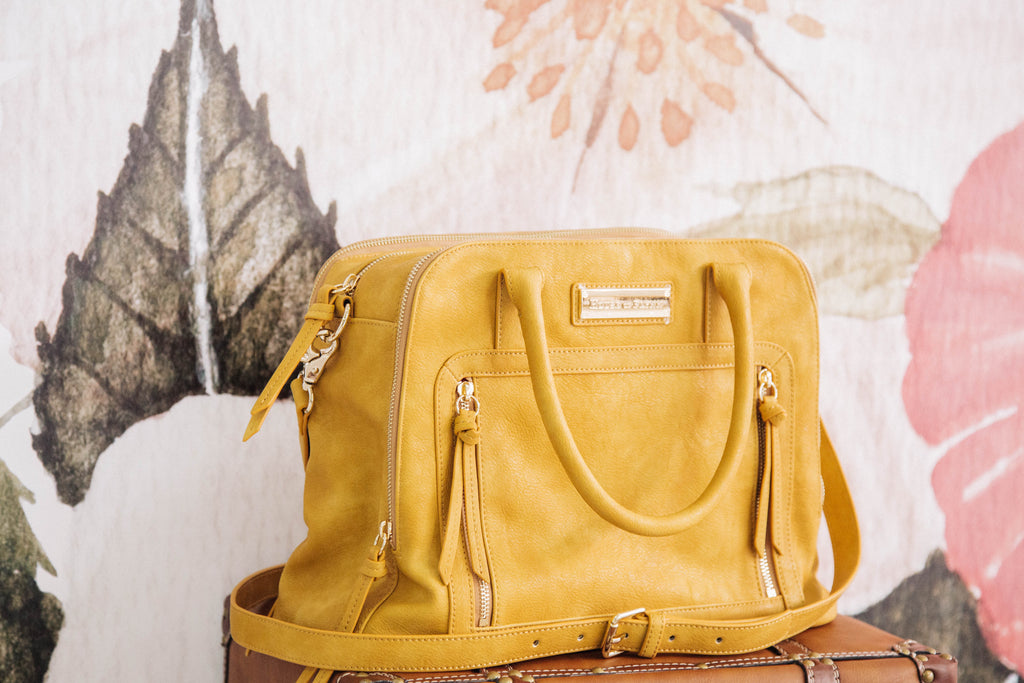 NEW!  Luna Bag- Goldenrod