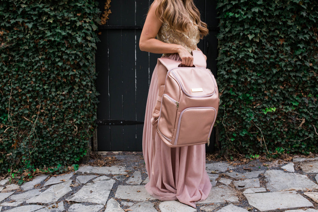 The Backpack- Champagne Pink