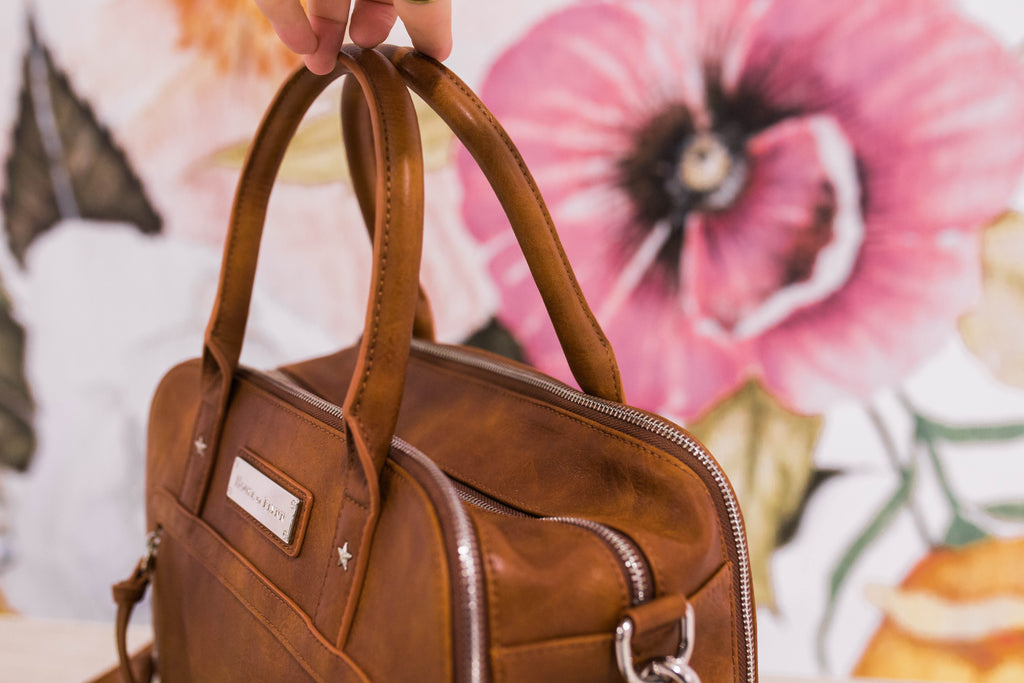 AUGUST PRESALE- NEW! Luna Bag- Warm Honey
