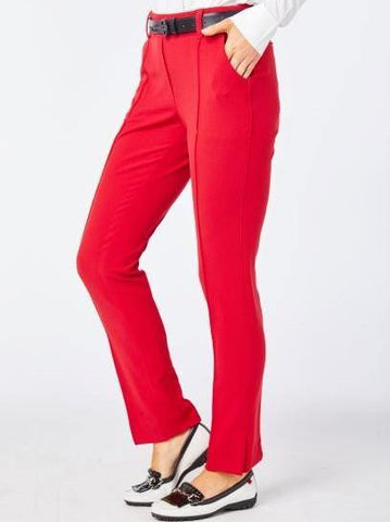 Belyn Key Oxford Ankle Vent Pant