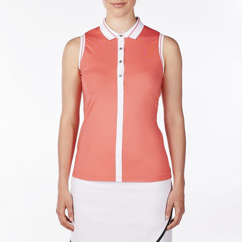 Nivo Waves Willa Sleeveless Polo