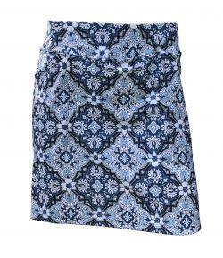 B-Skinz Blue Medallion Golf Skort